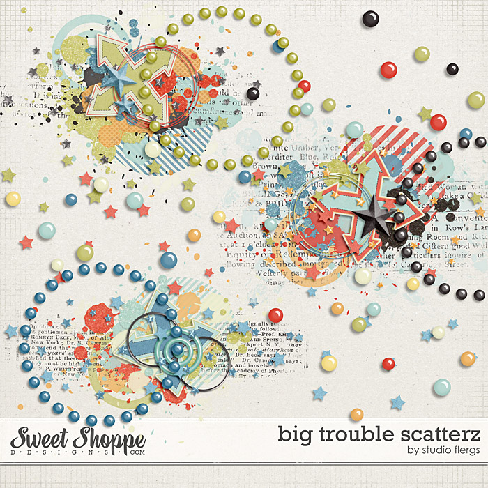 Big Trouble: SCATTERZ by Studio Flergs