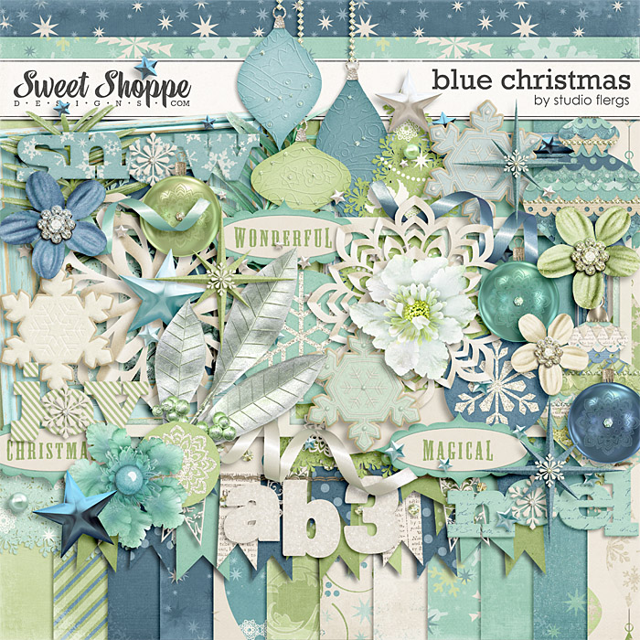 Blue Christmas by Studio Flergs