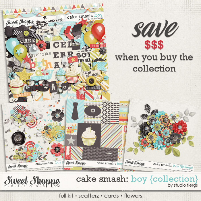 Cake Smash: BOY {collection} by Studio Flergs