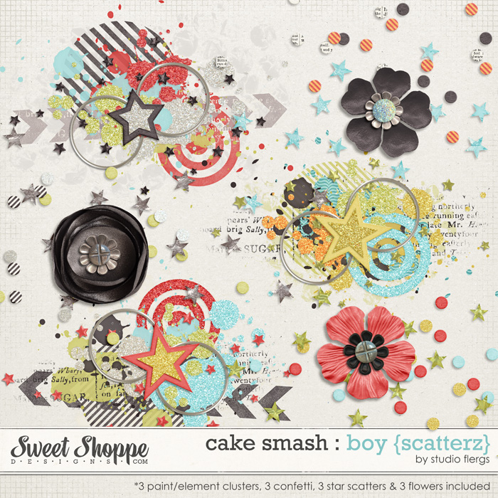 Cake Smash: BOY{scatterz} by Studio Flergs