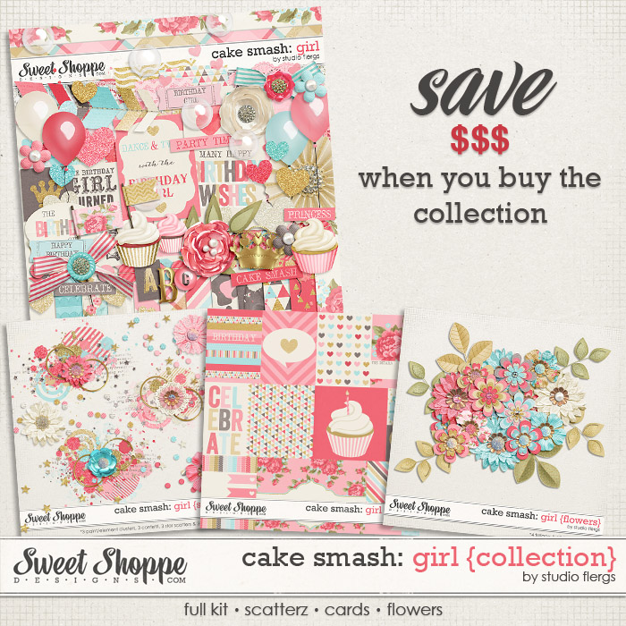 Cake Smash: GIRL {collection} by Studio Flergs