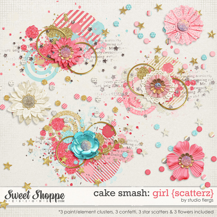 Cake Smash: GIRL {scatterz} by Studio Flergs