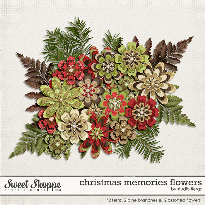 Christmas Memories: FLOWERS by Studio Flergs