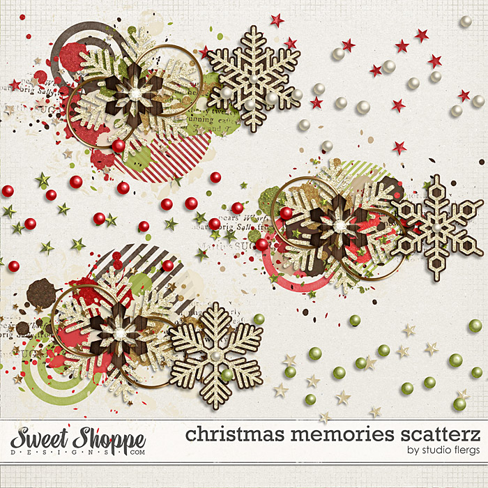 Christmas Memories: SCATTERZ by Studio Flergs