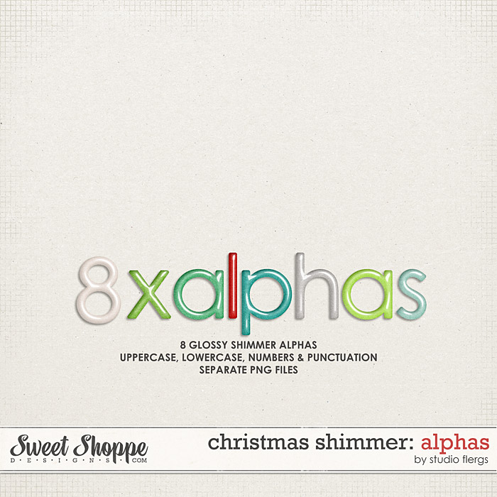 Christmas Shimmer: ALPHAS by Studio Flergs