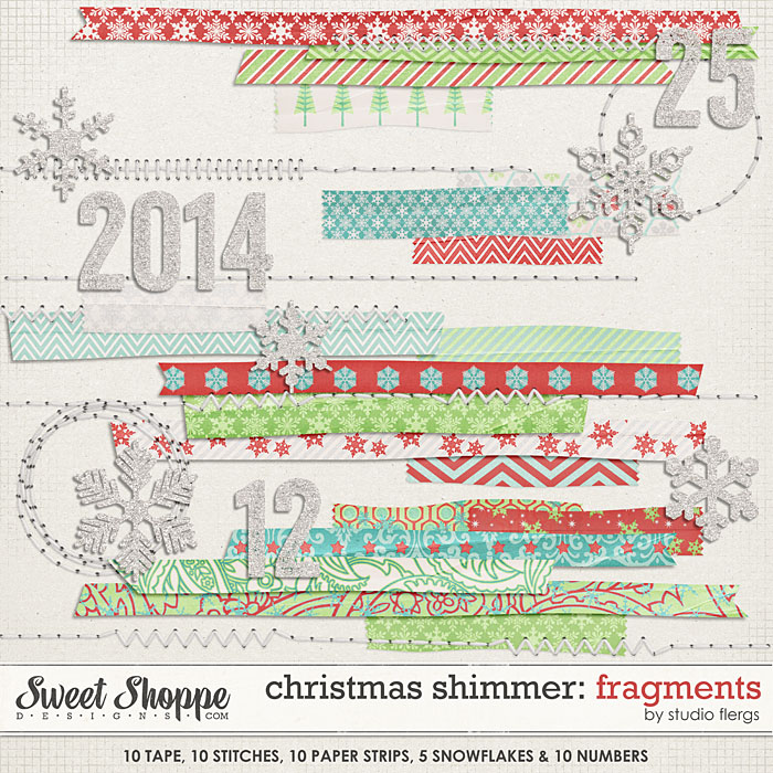 Christmas Shimmer: FRAGMENTS by Studio Flergs