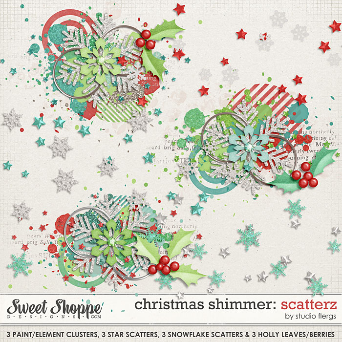 Christmas Shimmer: SCATTERZ by Studio Flergs