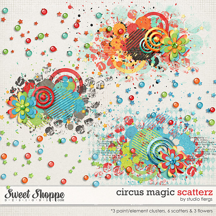 Circus Magic: SCATTERZ by Studio Flergs