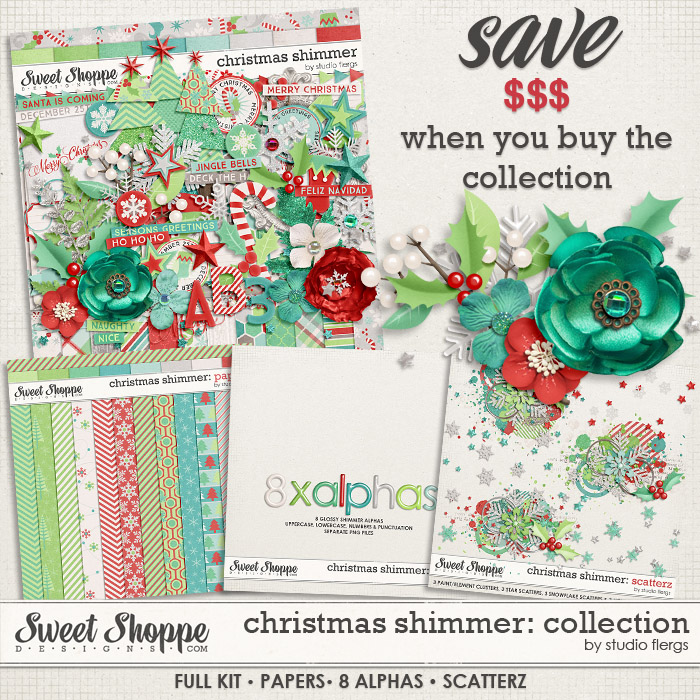 Christmas Shimmer: COLLECTION  by Studio Flergs