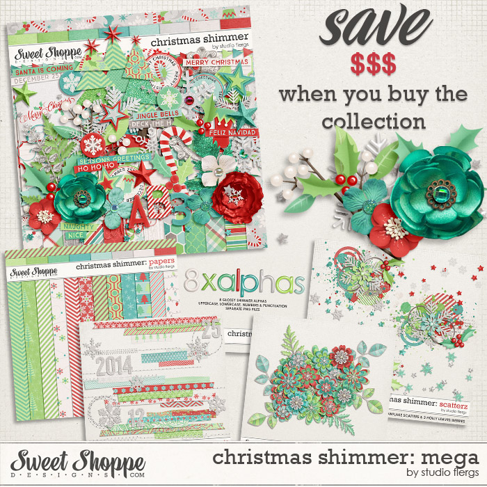 Christmas Shimmer: MEGA COLLECTION by Studio Flergs