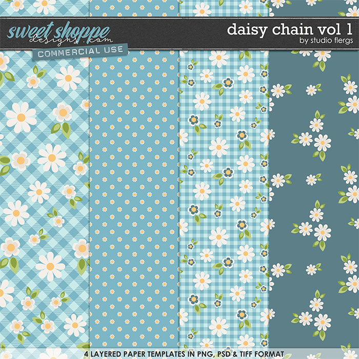 Daisy Chain VOL 1 by Studio Flergs