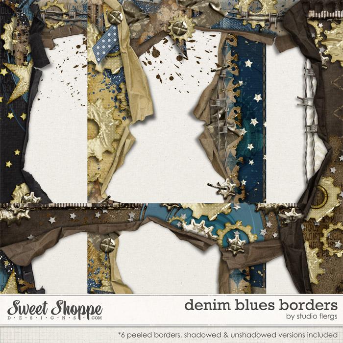 Denim Blues: BORDERS By Studio Flergs