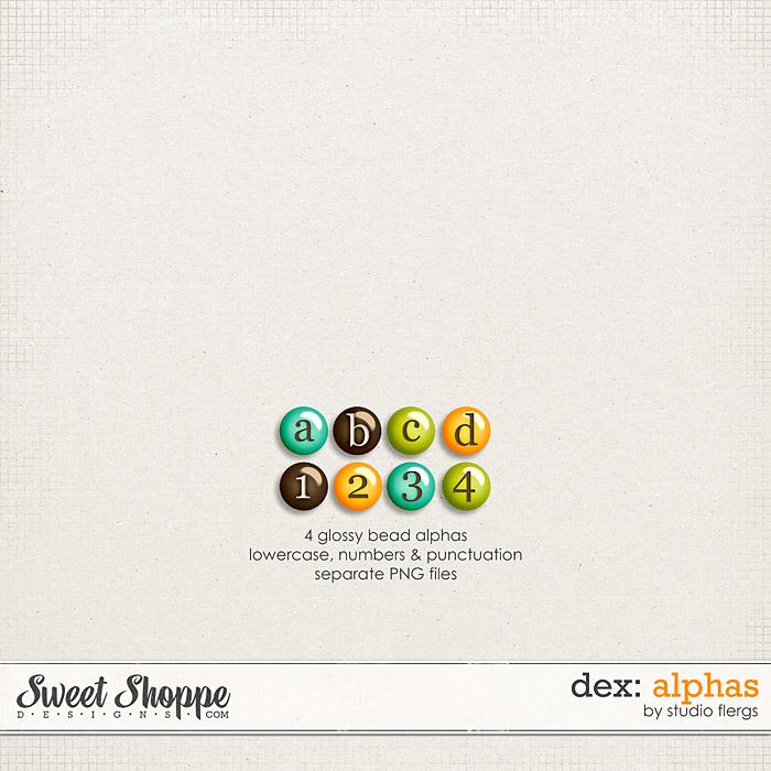 DEX: ALPHAS by Studio Flergs