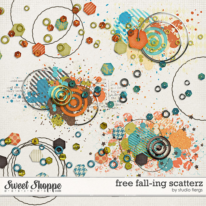 Free Fall-ing: SCATTERZ by Studio Flergs