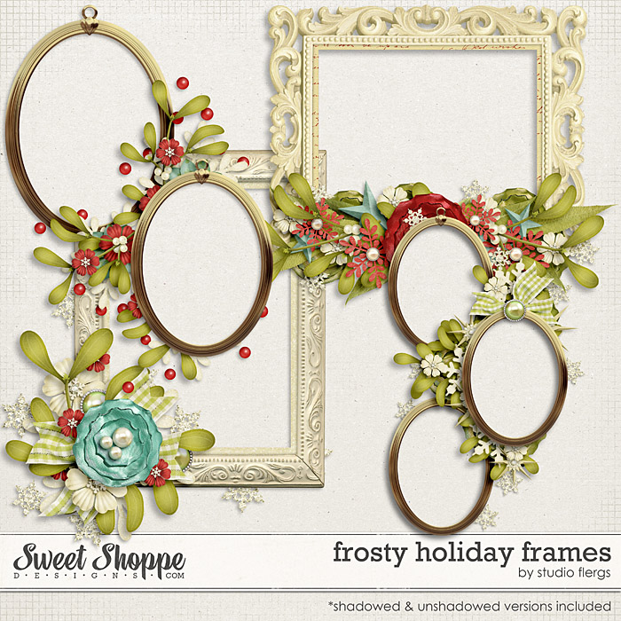 Frosty Holiday: FRAMES by Studio Flergs