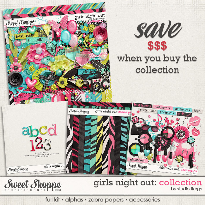 Girls Night Out: COLLECTION by Studio Flergs