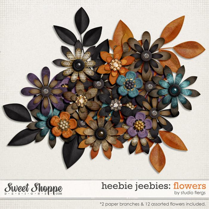 Heebie Jeebies: FLOWERS by Studio Flergs