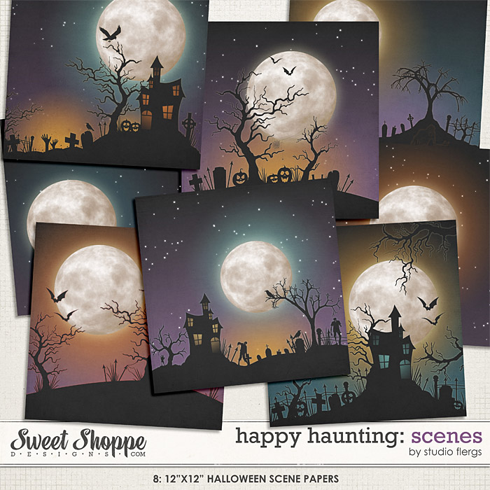 Happy Haunting: SCENES by Studio Flergs