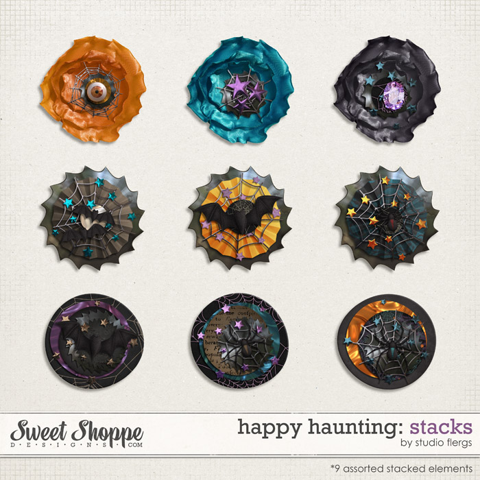 Happy Haunting: STACKS by Studio Flergs