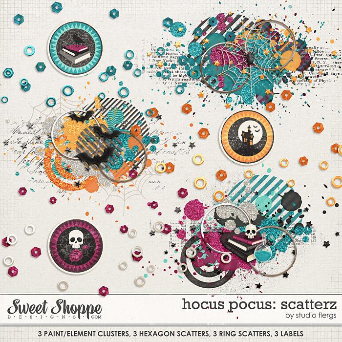 Hocus Pocus: SCATTERZ by Studio Flergs
