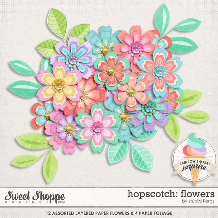Hopscotch: FLOWERS by Studio Flergs