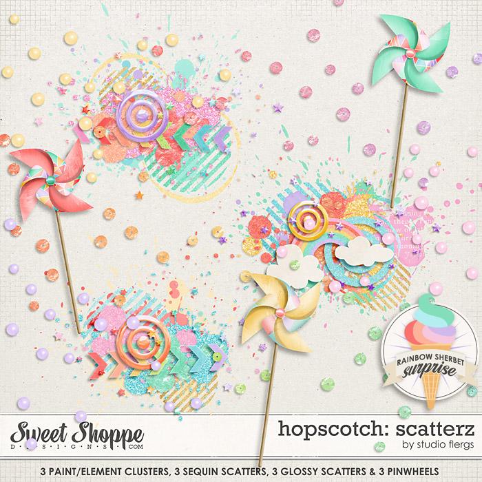 Hopscotch: SCATTERZ by Studio Flergs