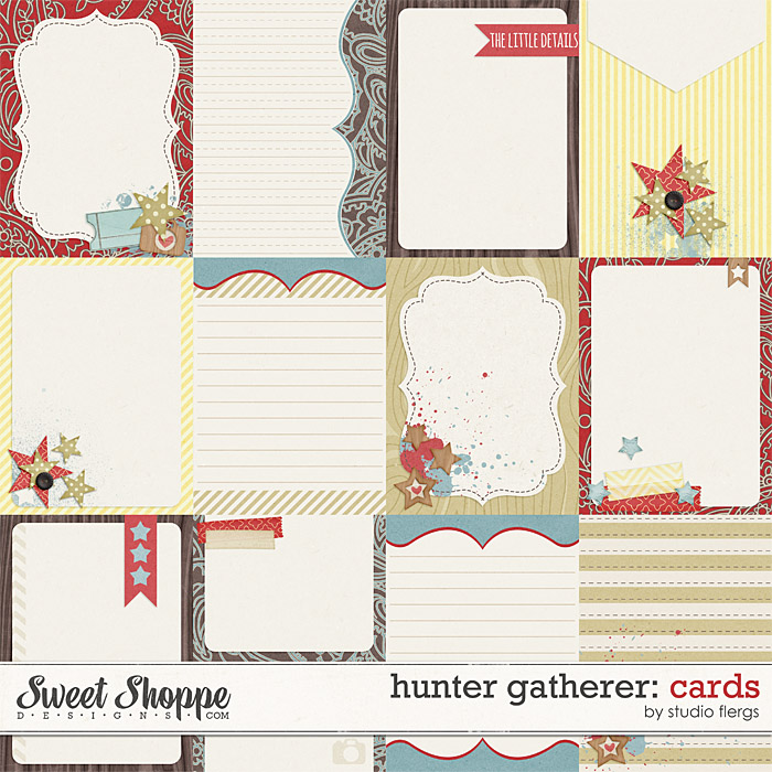 Hunter Gatherer: CARDS by Studio Flergs