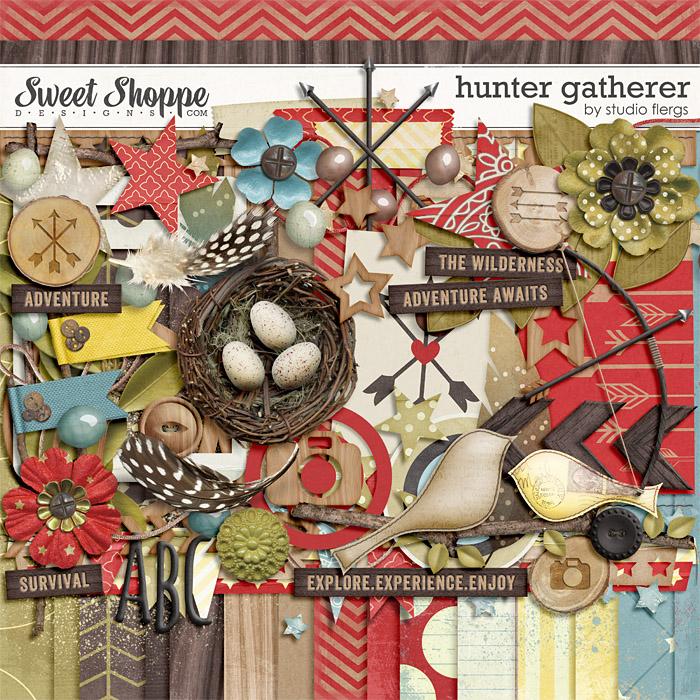 Hunter Gatherer by Studio Flergs
