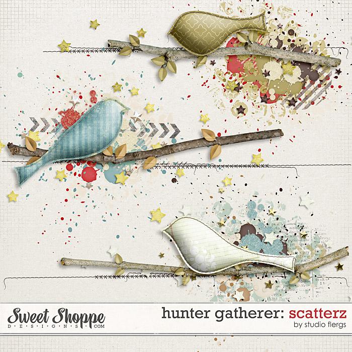 Hunter Gatherer: SCATTERZ by Studio Flergs