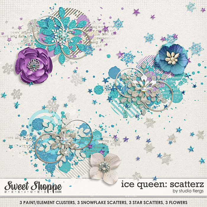Ice Queen: SCATTERZ by Studio Flergs