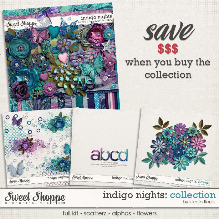 Indigo Nights: COLLECTION by Studio Flergs & Jennifer Labre