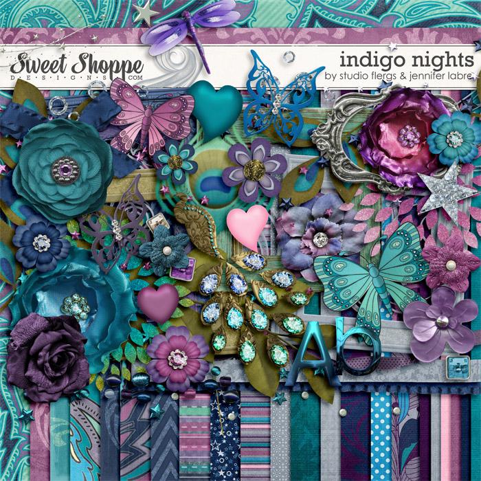 Indigo Nights by Studio Flergs & Jennifer Labre