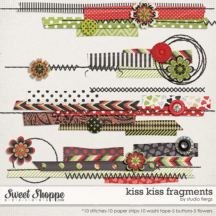 Kiss Kiss: FRAGMENTS By Studio Flergs