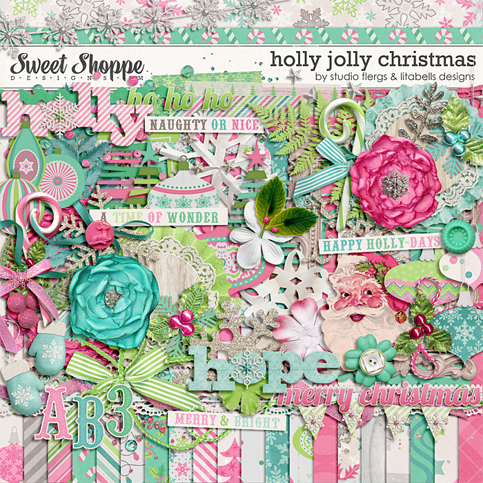 Holly Jolly Christmas by Studio Flergs