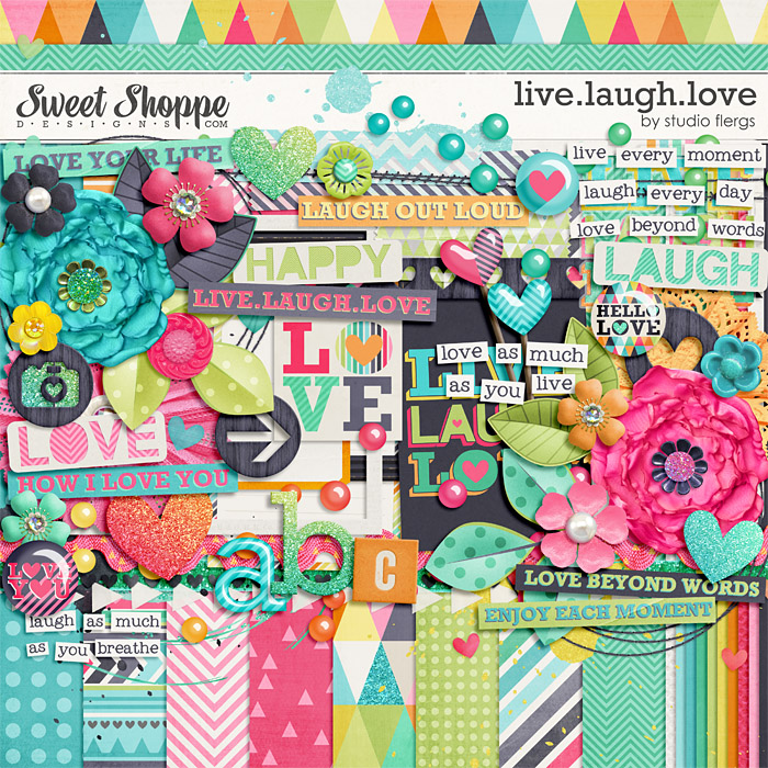 Live.Laugh.Love By Studio Flergs