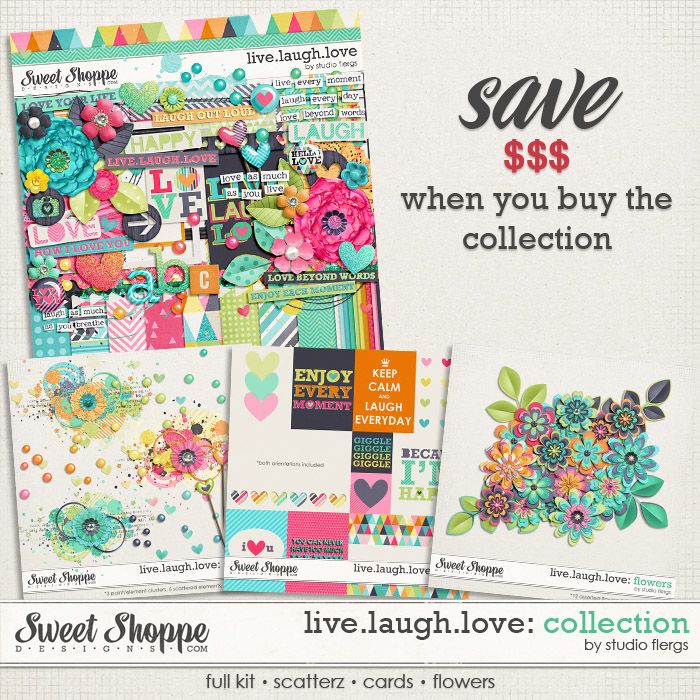 Live.Laugh.Love: COLLECTION By Studio Flergs