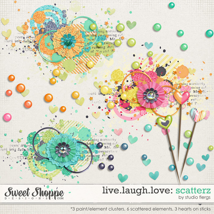 Live.Laugh.Love: SCATTERZ By Studio Flergs