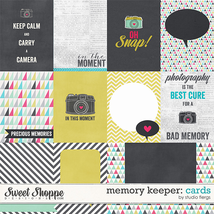 Memory Keeper: CARDS by Studio Flergs