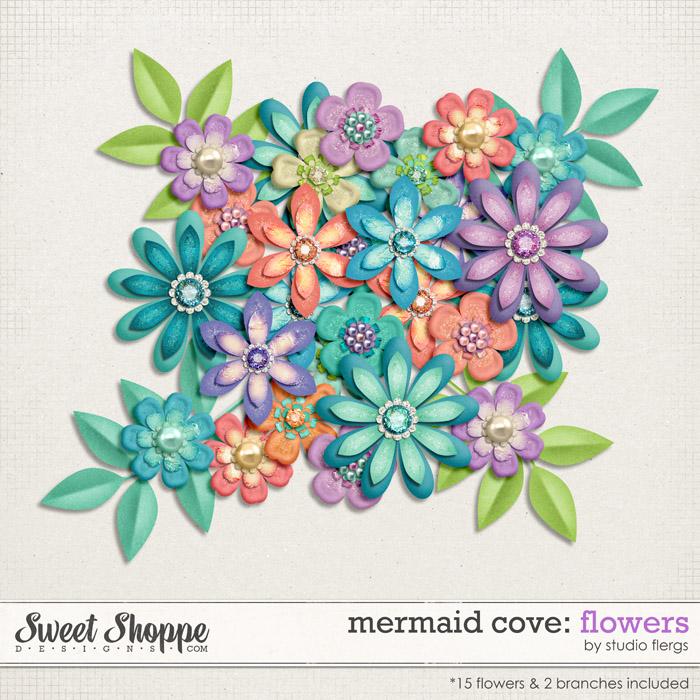 Mermaid Cove: FLOWERS by Studio Flergs