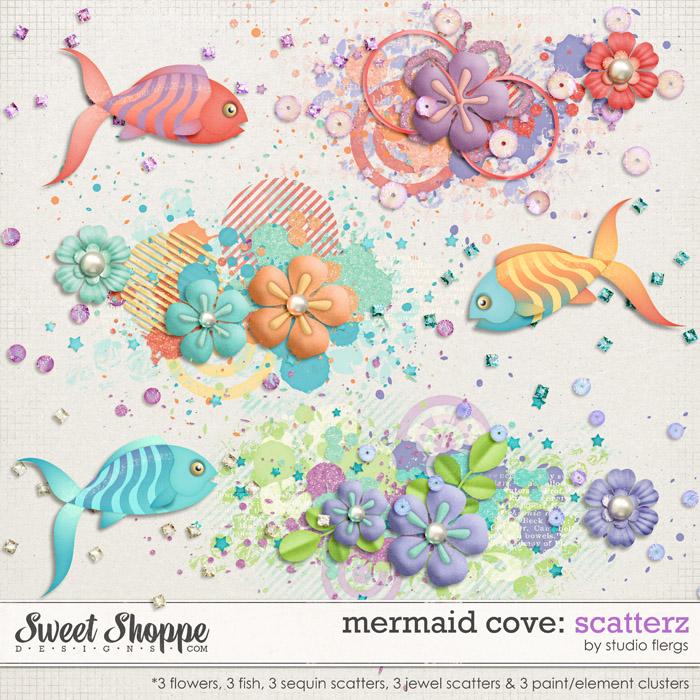 Mermaid Cove: SCATTERZ by Studio Flergs