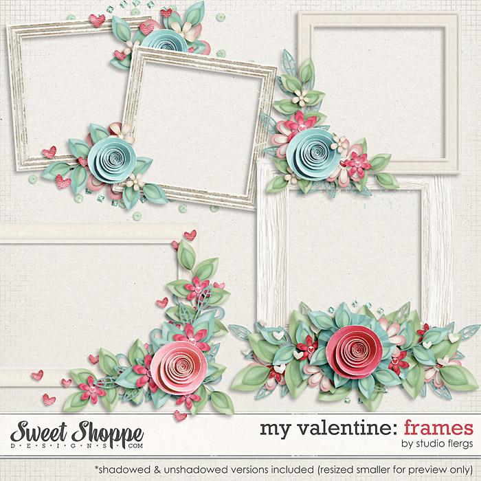 My Valentine: FRAMES by Studio Flergs