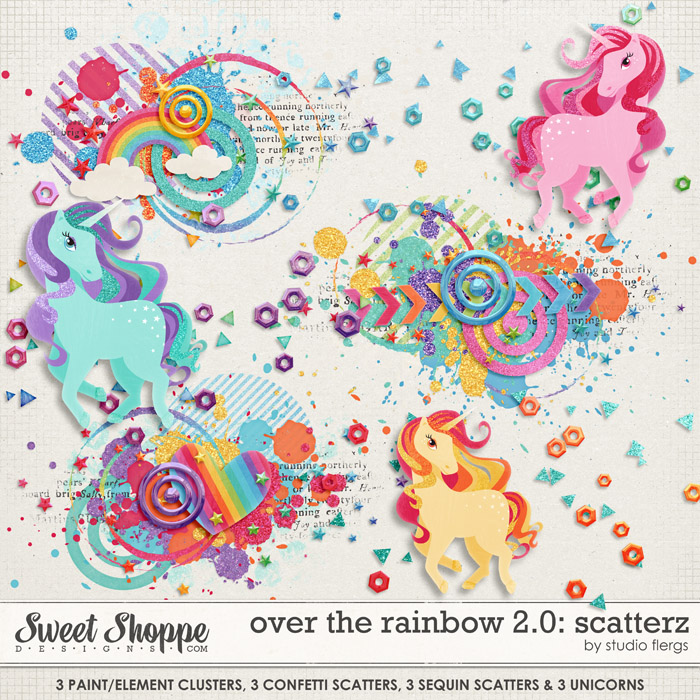 Over the Rainbow 2.0: SCATTERZ by Studio Flergs