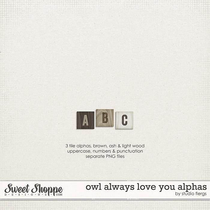 Owl Always Love You: ALPHAS by Studio Flergs