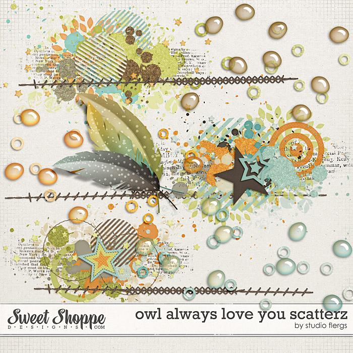 Owl Always Love You: SCATTERZ by Studio Flergs