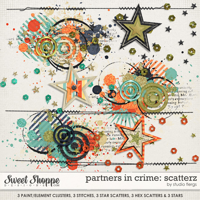 Partners in Crime: SCATTERZ by Studio Flergs