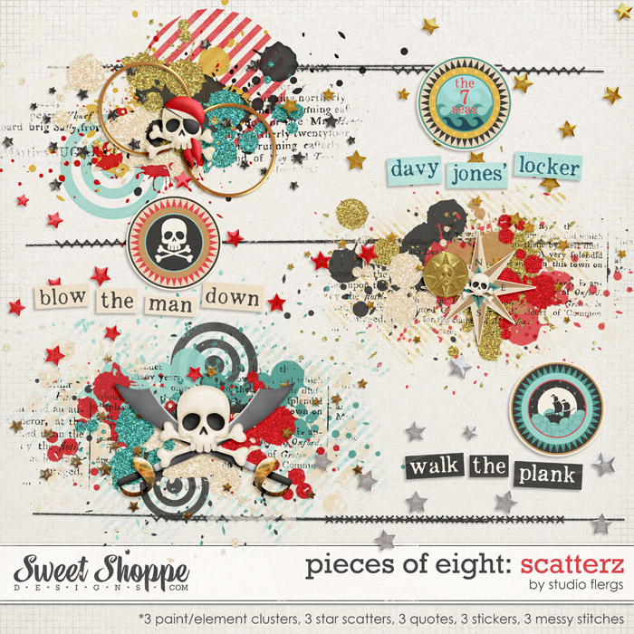 Pieces of Eight: SCATTERZ by Studio Flergs