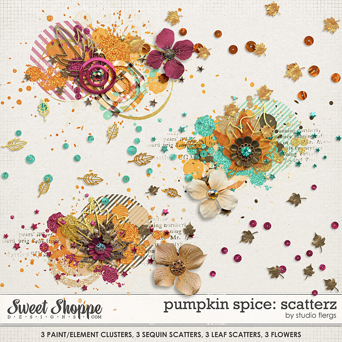 Pumpkin Spice: SCATTERZ by Studio Flergs