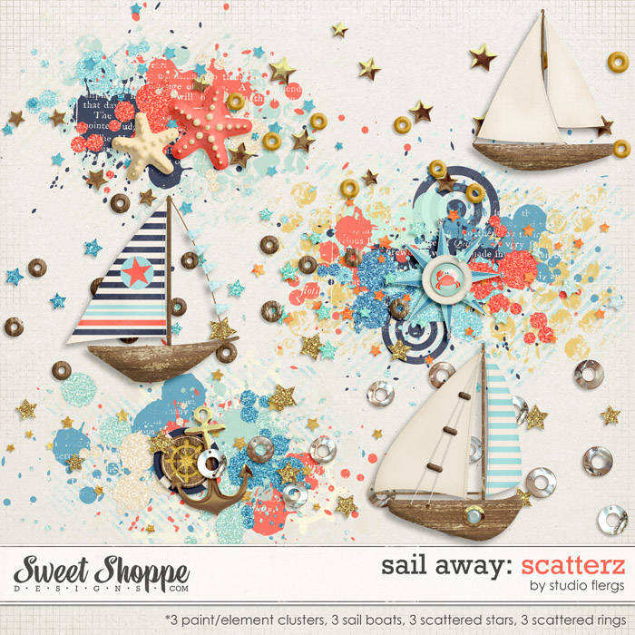Sail Away: SCATTERZ by Studio Flergs