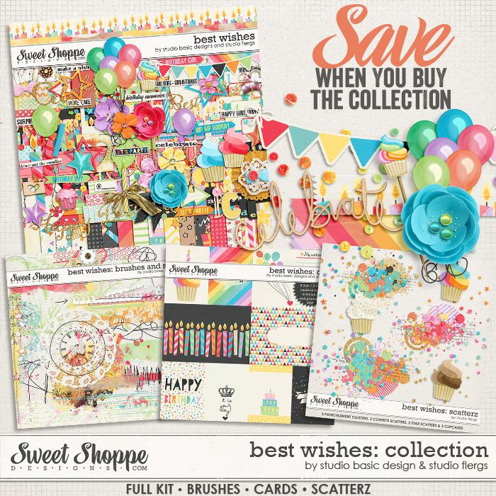 Best Wishes: COLLECTION by Studio Flergs & Studio Basic Designs