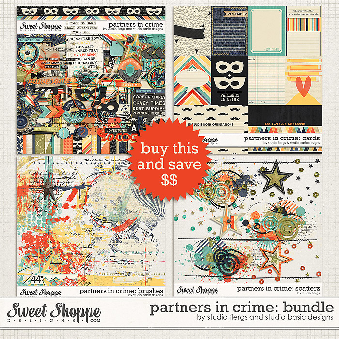 Partners in Crime: COLLECTION by Studio Flergs & Studio Basic Designs